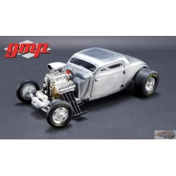 1/18 1934 Blown Altered Coupe - Raw Steel GMP-18880