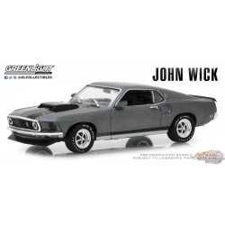 1969 Ford Mustang BOSS 429  John Wick  Greenlight 1/43 86540