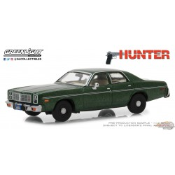 1/43 1977 Dodge Monaco   Hunter (1984-91 Série télévisée) Greenlight 86537