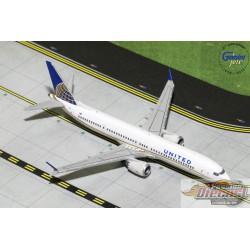 United Boeing 737 Max9  Gemini Jets  1/400 GJUAL1784  Passion Diecast