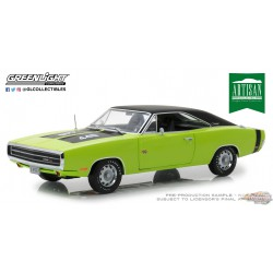 1/18 1970 Dodge Charger RT SE - Vert Sublime   Greenlight Artisan 13529 Passion Diecast