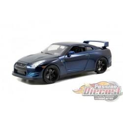 1/24 Nissan GTR R35 Fast Fusious 7  Jada 97036 Passion Diecast