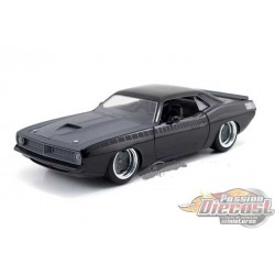 1/24 Letty's 1970 Plymouth Barracuda FAST & FURIOUS 7  Jada 97195 Passion Diecast