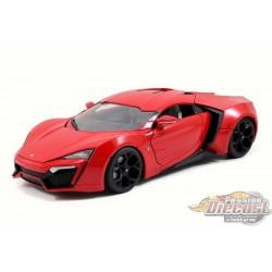 Lykan Hypersport Red FAST & FURIOUS  7 Jada 1/18 97388 Passion Diecast