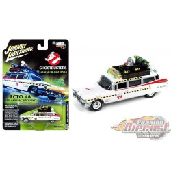 CADILLAC GHOSTBUSTERS ECTO-1A  JOHNNY L IGHTNING 1:64 JLSS004 Passion Diecast