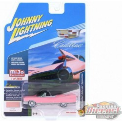 1959 Cadillac Eldorado Convertible, Rose   JOHNNY L IGHTNING 1:64 JLCP7045 Passion Diecast