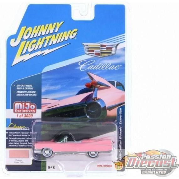 1959 Cadillac Eldorado Convertible, Rose   JOHNNY L IGHTNING 1:64 JLCP7045 Passion Diecast