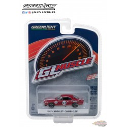 1:64 GreenLight GL-13210A 1967 Chevrolet Camaro Z-28 57 Heinrich Chevy-Land GL Muscle series 20 Passiondiecast