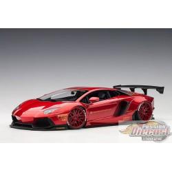 Lamborghini Aventador LB WORKS - Rouge Metalique   Autoart  79109  Passion Diecast