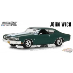 Greenlight 1/43  1970 Chevrolet Chevelle SS 396 John Wick (2014) GL-86541 PASSION DIECAST