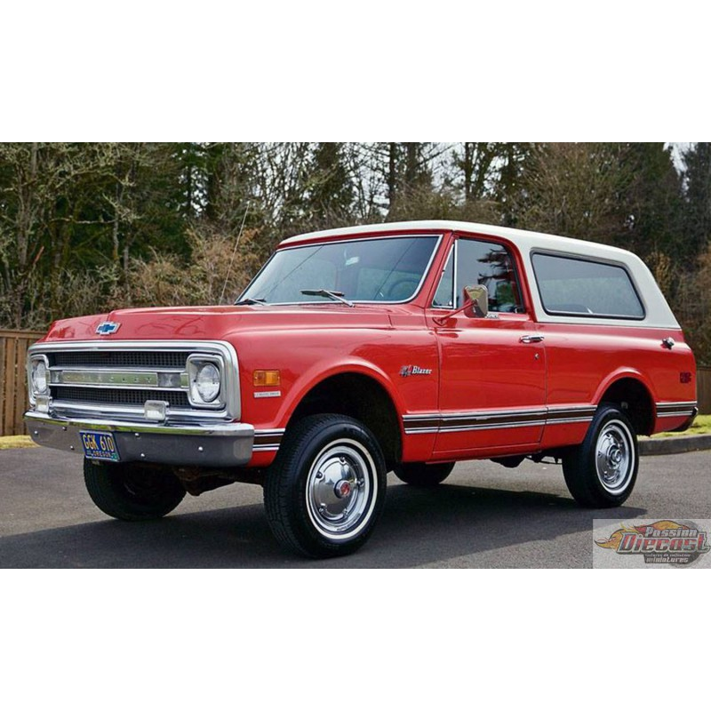 CHEVROLET K5 BLAZER 1969 Orange ACME 1/18 A1807701 Passion Diecast