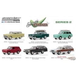 1:64 GreenLight Estate Wagons Series 2 Assortment  PASSION DIECAST GL-29930  Greenlight 29930