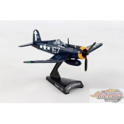 VOUGHT F4U CORSAIR 167 USN  POSTAGE STAMP  1/100  PS5356-4 Passion Diecast