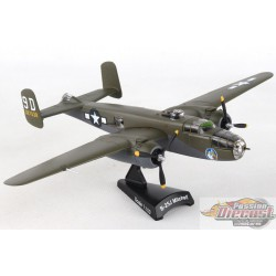 North American  B-25J MITCHELL  BRIEFING TIME  POSTAGE STAMP 1/100  PS5403-5 Passion Diecast