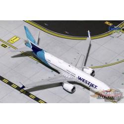 Westjet Boeing 737 MAX 8 C-GZSG   Gemini 1/400  GJWJA1822 Passion Diecast