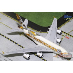 Etihad Airbus A380-800  Year Zayed 2018 A6-APH  Gemini 1/400 GJETD1813  Passion Diecast
