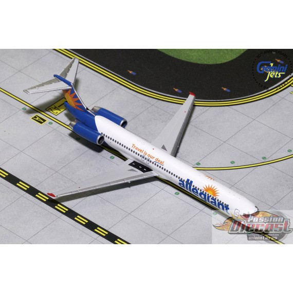 Allegiant McDonnell Douglas MD-82 Good Bye MD-80  Gemini 1/400 GJAAY1777  Passion Diecast