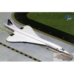British Airways Concorde Landor Livery  G-BOAA  Gemini 1/200 G2BAW744  Passion Diecast