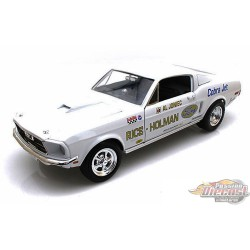 1/18  1968 Mutang Jet Cobra  Autoworld AW203  PAssion diecast