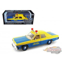 1/18   1974 Dodge Monaco New York Police Autoworld AMM949 PAssion diecast
