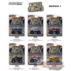 Kings of Crunch Series 1  GreenLight 1/64  49010 Passion Diecast