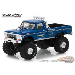1/43 Bigfoot no1 The Original Monster Truck (1979) - 1974 Ford F-250 Monster Truck GL-86097 GREENLIGHT PASSIONDIECAST