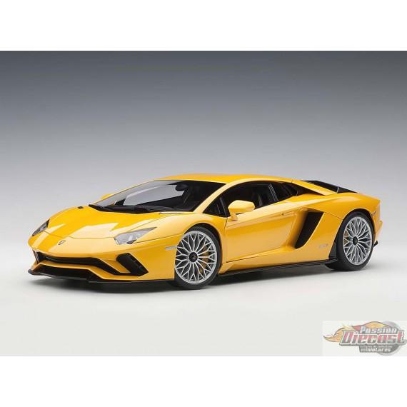 LAMBORGHINI Aventador S  Jaune Autoart Autoart 1/18   Item# 79132  Passion Diecast