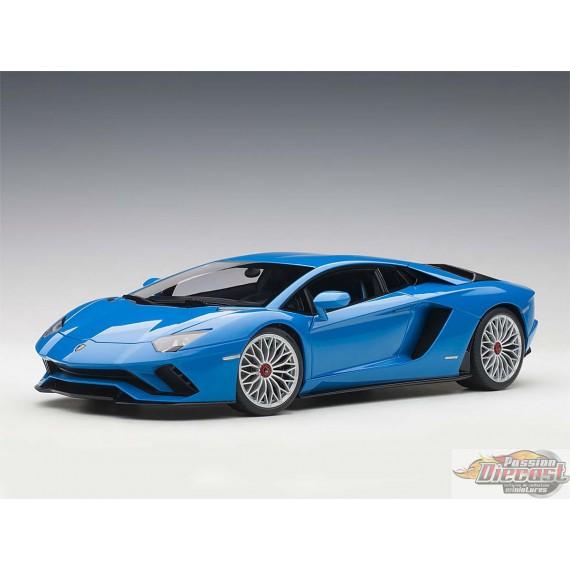LAMBORGHINI Aventador S   Bleu Perle Autoart  1/18   Item#  79134 Passion diecast