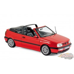VW GOLF CABRIOLET 1995 - RED  1/18  Norev 188433 Passion diecast