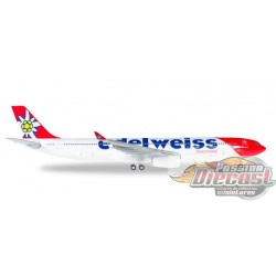 Edelweiss Switzerland Airbus A330-300  1/200 Herpa Wings 558129