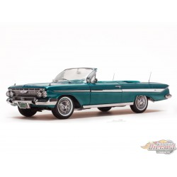 Chevrolet Impala 1961 Convertible wilight Turquoise  1/18 SUNSTAR 3407 Passion Diecast