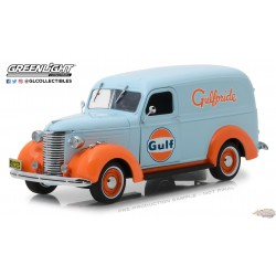 Chevrolet Panel Truck 1939 - Gulf Oil Running on Empty 1 Greenlight 85011 1/24 Passion Diecast