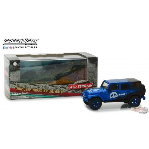 43 2012 Jeep Wrangler Unlimited Mopar Off-Road Edition Greenlight 86099 1