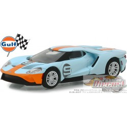 Ford GT 2019 Heritage Edition - No.9 Gulf Racing (Hobby Exclusive)  greenlight 29909 1-64 Passion Diecast