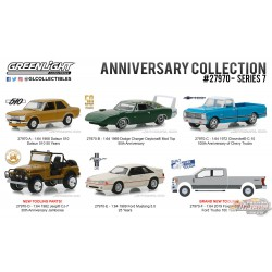 Anniversary Collection Series 7  Assortiment greenlight 27970 1-64 Passion Diecast