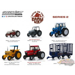 Down on the Farm Series 2  Assortment greenlight 48020 1-64 Passion Diecast