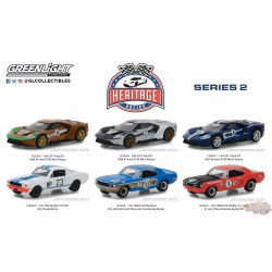 Ford Racing Heritage Series 2  Assortiment greenlight 13220 1-64 Passion Diecast