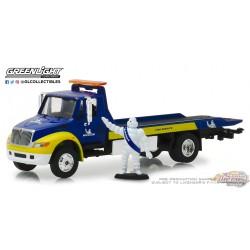 2013 International Durastar Flatbed - Michelin  greenlight 33150C 1-64 Passion Diecast