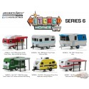 Hitched Homes Series 6  Assortiment Greenlight 34060 1/64