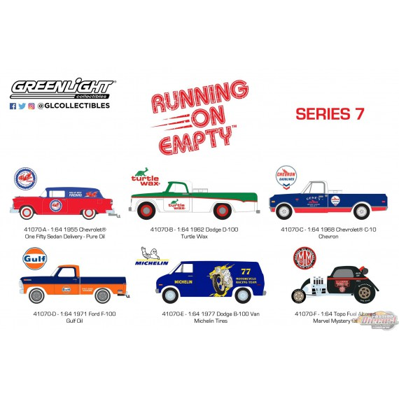 Running on Empty Series 7  Assortiment Greenlight 41070 1/64 PassionDiecast