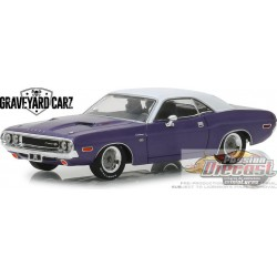 "Dodge Challenger R/T 1970 Graveyard Carz (2012-Current TV Series) (Season 5 - ""Chally vs. Chally"") Greenlight 86553 1/43"