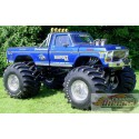 Ford F-250 Monster Truck 1974 avec roues 48 pouces Kings of Crunch -Bigfoot NO1  Greenlight 13537  1/18