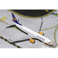 Icelandair  Boeing 737-MAX8  Gemini 1/400 GJICE1767  Passion Diecast