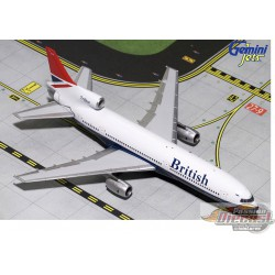 British Airways Boeing L-1011-1 Negus Livery  Gemini 1/400 GJBAW137  Passion Diecast