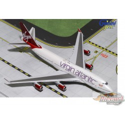 Virgin Atlantic, Boeing 747-400   G-VBIG Gemini Jets 1/400 GJVIR1799 Passion Diecast