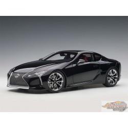LEXUS LC 500  Black   dark Rose interior AUTOart 1/18  78874 Passion Diecast