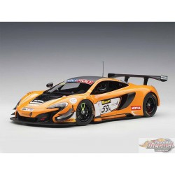 McLAREN 650S GT3 -  Bathurst 12 Hour Winner 2016 no 59 Orange Autoart 1/18  81643  Passion diecast