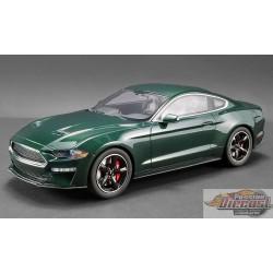 FORD MUSTANG BULLITT 2019 Highland Green GT SPIRIT  US017 Passion Diecast