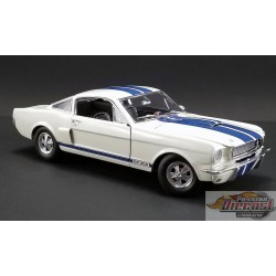 SHELBY GT350 SUPERCHARGED 1966 WHITE  ACME 1/18  A1801833