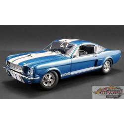 SHELBY GT350 SUPERCHARGED 1966 WHITE  ACME 1/18  A1801833 Passion Diecast